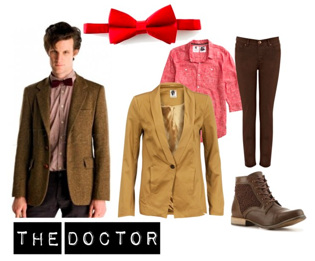 Simple Doctor Who Cosplay