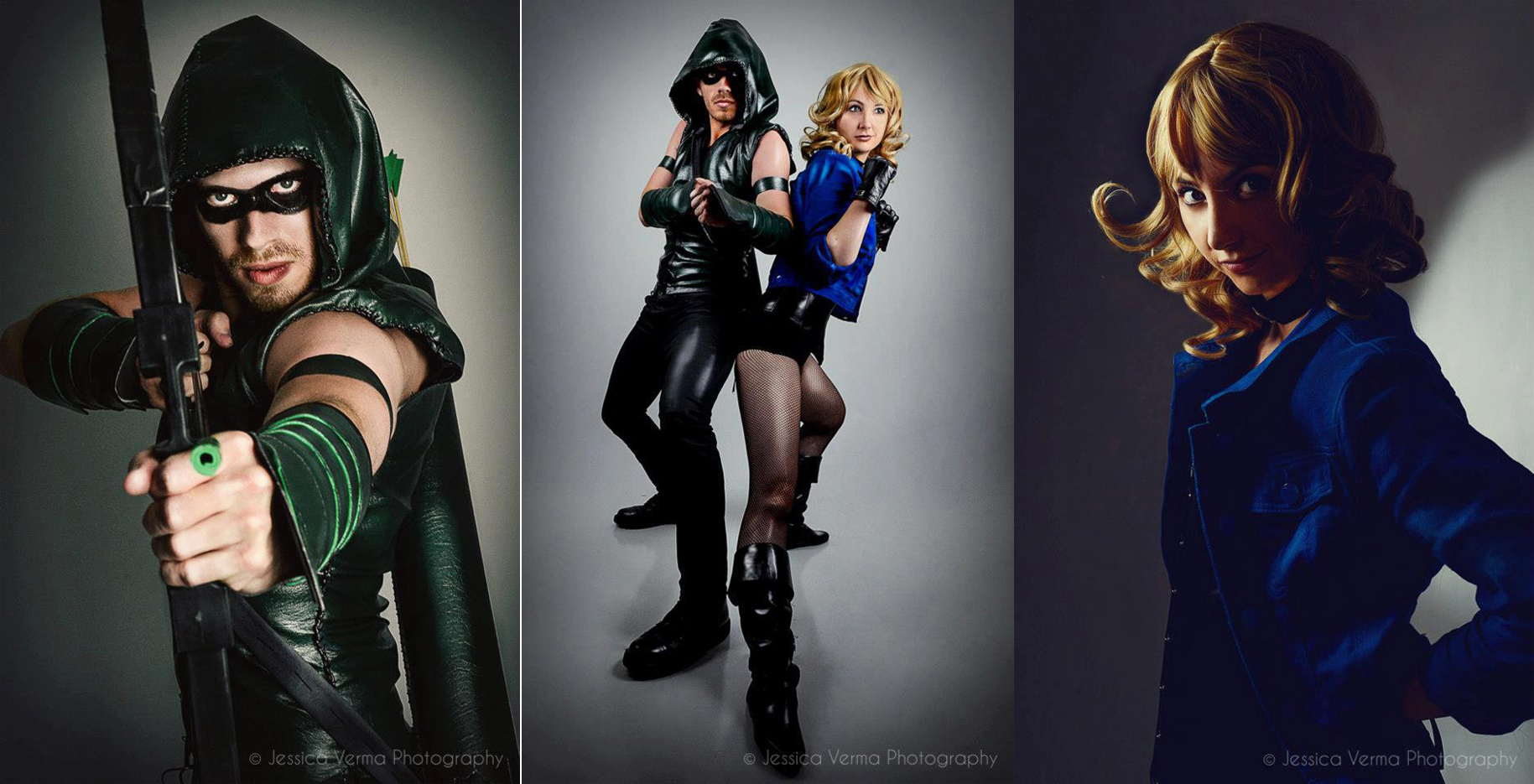 Black Canary And Green Arrow Cosplay