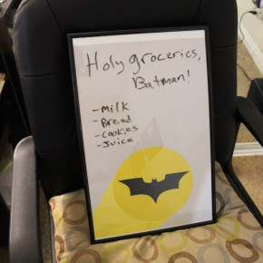 How to Make a Batman Message Board