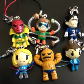 It's our first Giveaway! Win 6 Tokidoki Marvel Frenzies!