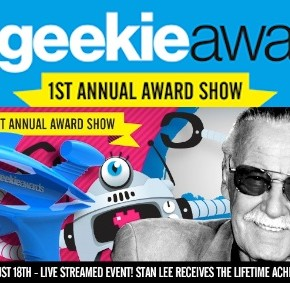 Can't be at The Geekie Awards? Watch the live stream!