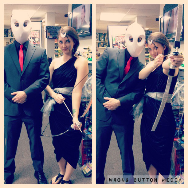 Aretmis and Court of Owls cosplay