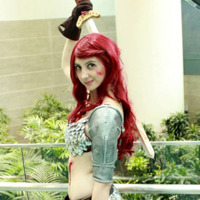Cosplay Closet: Red Sonja's Shoulder Armor