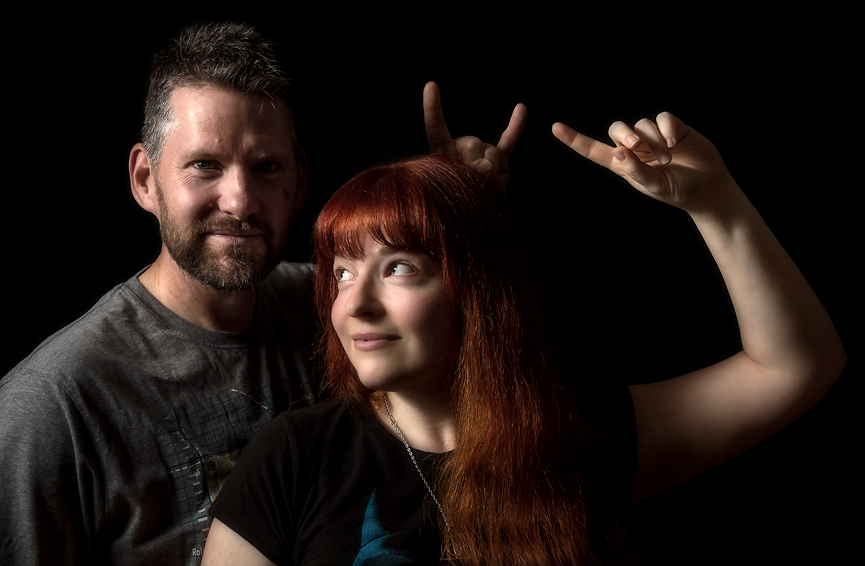 Geeky Rock Duo Copy Red Leader Interview on Wrong Button Blog
