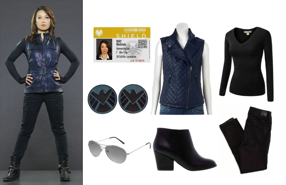 Easy Agent May from S.H.I.E.L.D. Halloween Costume