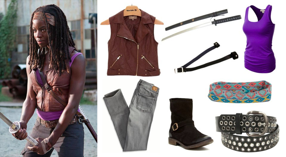 Easy Michonne Halloween Costume