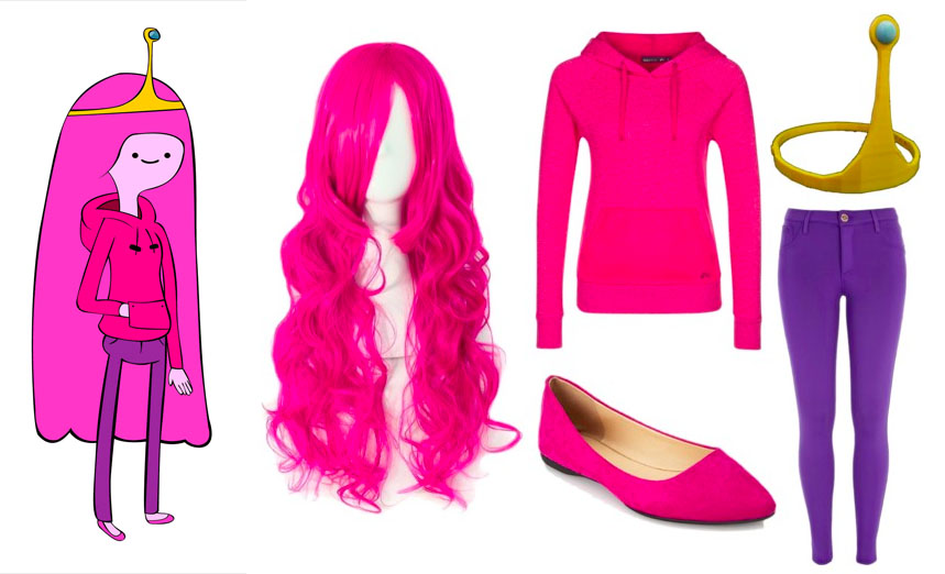 Easy Princess Bubblegum Halloween Costume