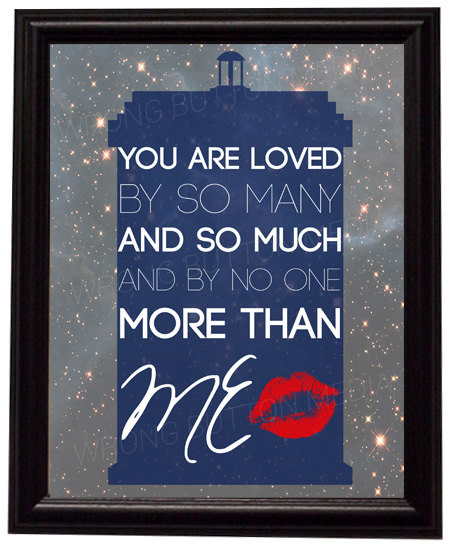 Doctor Who River Song Print