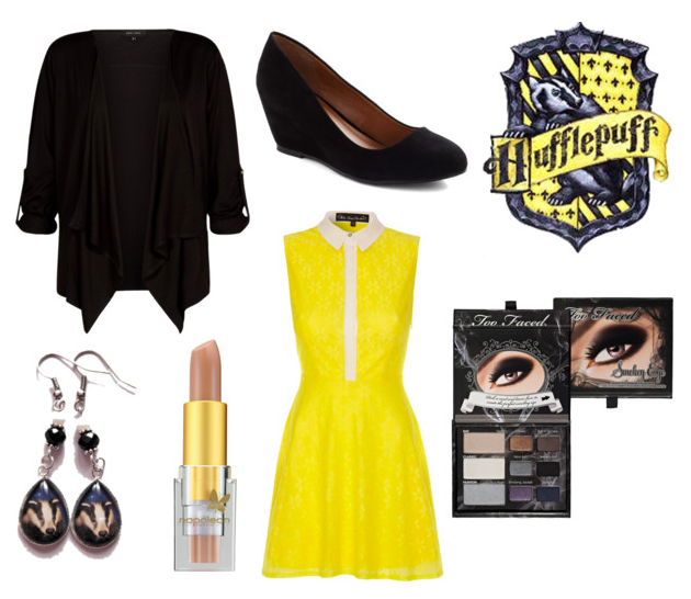Hufflepuff Holiday Outfit