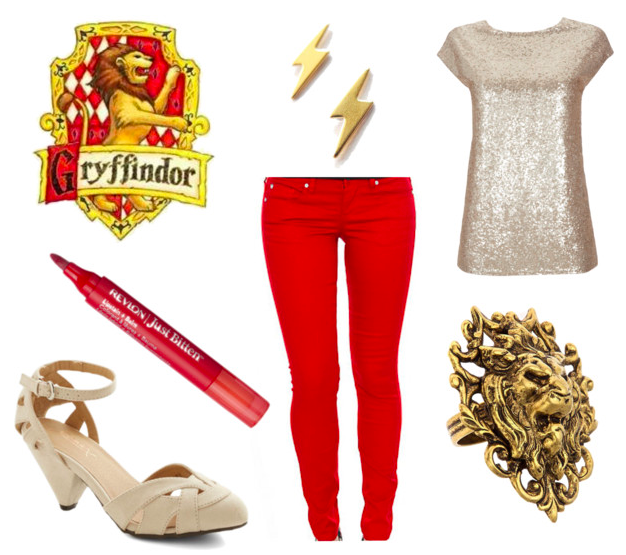 Gryffindor Holiday Outfit