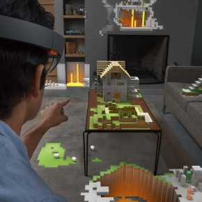 "All Your World are Belong to Microsoft: The HoloLens Gives Us a Taste of ""Mixed Reality"""