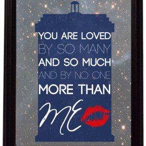 Valentine's Day Giveaway! Win Our 'Doctor Who' River Song Art Print