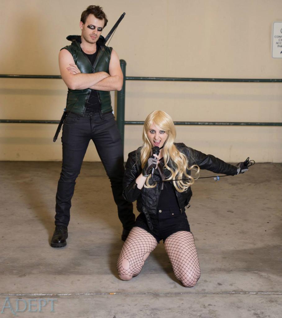 Punk Rock Canary and Arrow