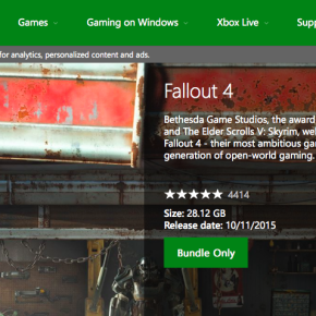 Fallout 4 Will Be Huge (At Least Based On Its Xbox File Size)