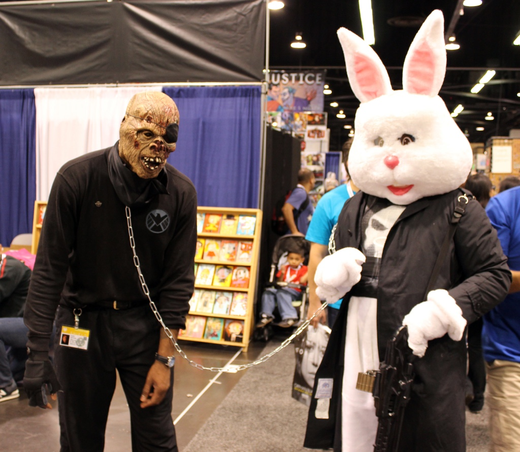 Punisher Easter Bunny and Zombie Nick Fury