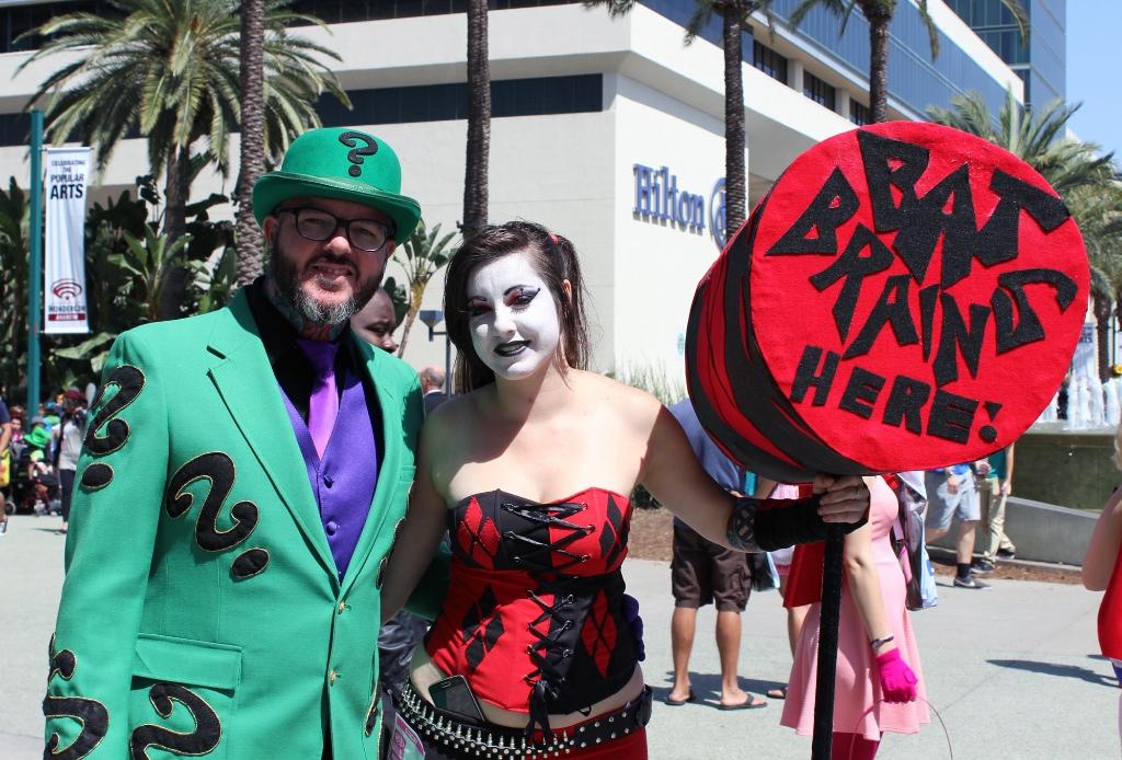 Riddler and Harley Quinn